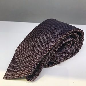 Hermès Merlot light brown tie